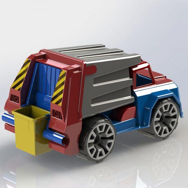Детско камионче играчка камион за смет от Дема Стил търговия на едро