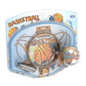 Баскетболен кош за деца- Детски баскетболен комплект с топка