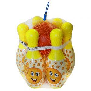 Боулинг комплект за деца в мержа с интересни кегли - Оналйн магазин Дема Стил