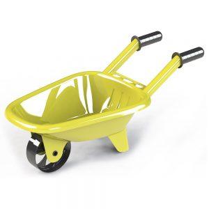 Детска градинска количка за бутане в жълт цвят