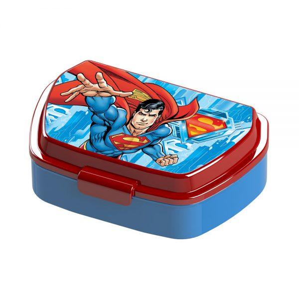 Детска кутия за храна и закуска за в училище - Суперман
