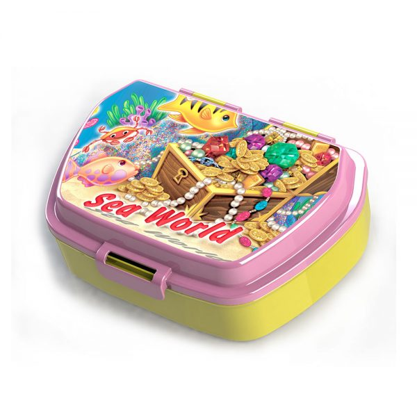 Детска розова кутия с интересна снимка Купи онлайн сега