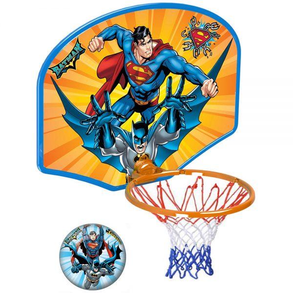 Детски баскетболен кош Суперман Батман