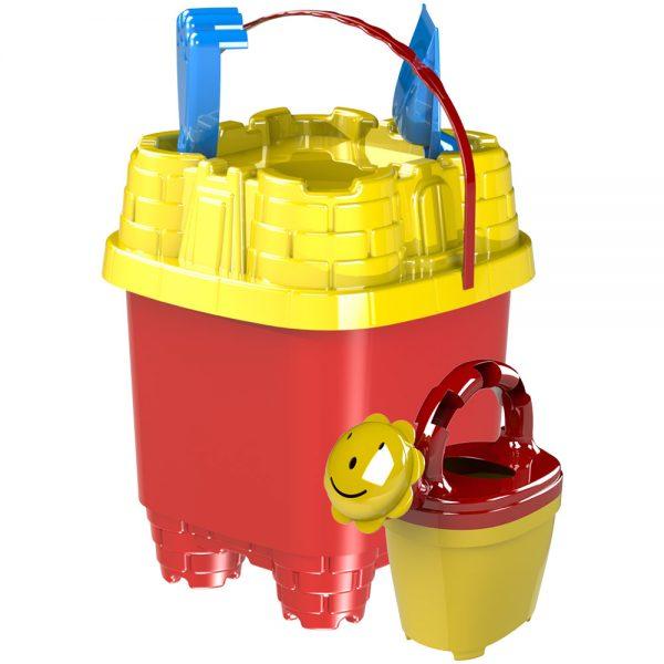 Детски комплект за плаж Замък - Купи онлайн плажни играчки