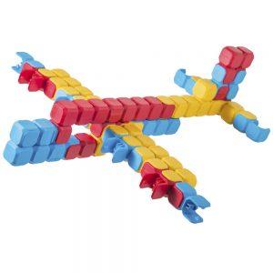 Детски конструктор KLIX - Самолет фигура
