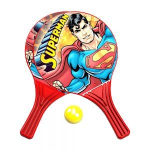 Детски плажен комплект от хилки Суперман 2 бр. - Купи онлайн Хилки за плажен тенис