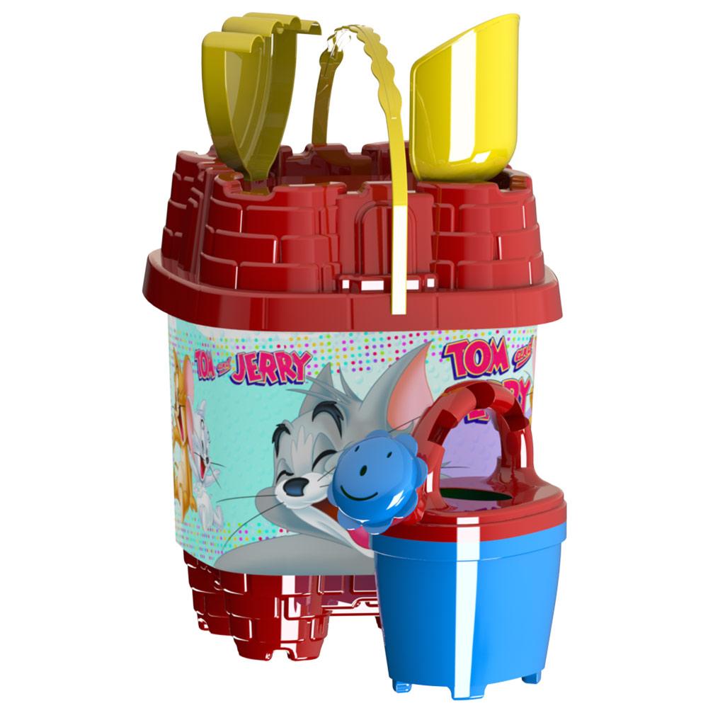 54730314d0c Детски плажни играчки кофичка замък с лейка и аксесоари за игра с пясък
