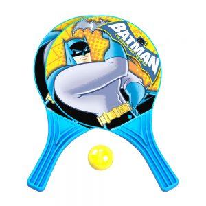 Комплект хилки Батман 2 бр. с топка за плажен тенис и игра за на открито
