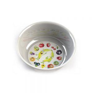 Малка пластмасува купа с интересна декорация