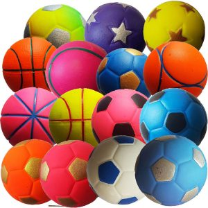 Скачащи топки Felder JUWA 55 мм. микс от цветове и дизайни