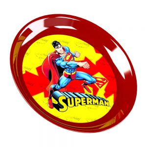 Голяма пластмасова чиния Dema-Stil Superman - ф23см