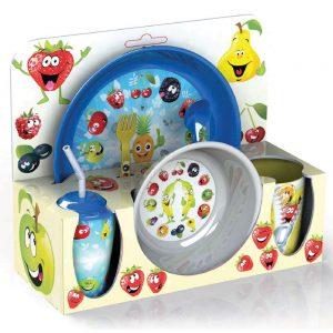 Комплект-детски-прибори-за-хранене---Комплект-с-прибори,-съдове,-чаши-и-чинии