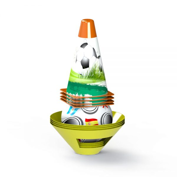Комплект от маркери и конуси за футбол и игри на открито - Детски играчки