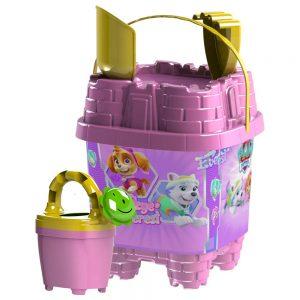 Детска кофичка за момиче - Играчки за на море Пес Патрул – Скай и Еверест