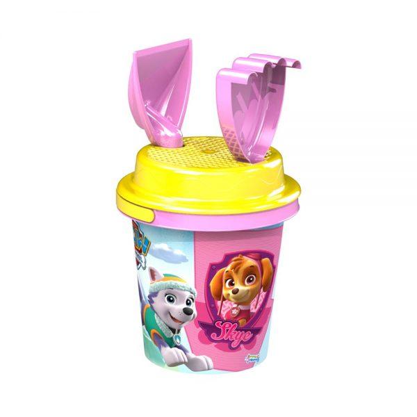 Детска плажна кофичка Пес Патрул - Скай и Еверест - Играчки за деца за на море