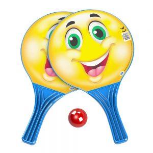 Хилки 2бр. за плаж с топка Dema-Stil - Купи онлайн Хилки за плажен тенис