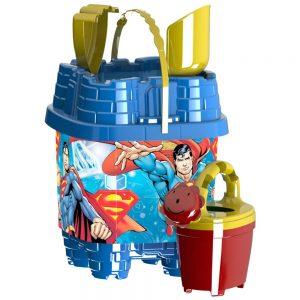 Кофичка тип замък за плаж - Суперман замък - играчки за плаж и море