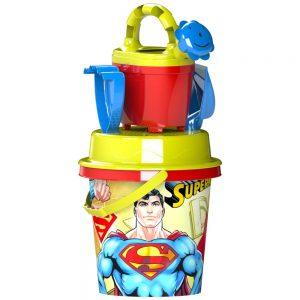 Плаженен комплект Суперман - Кофичка и аксесоари за плаж и море
