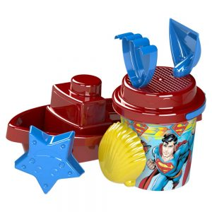 Детски плажни играчки с лотка и кофичка от ТВ реклами Суперман