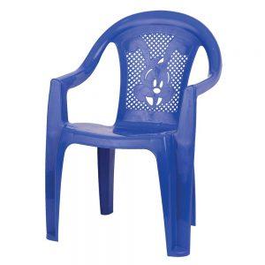 Детско пластмасово столче в различни цветове