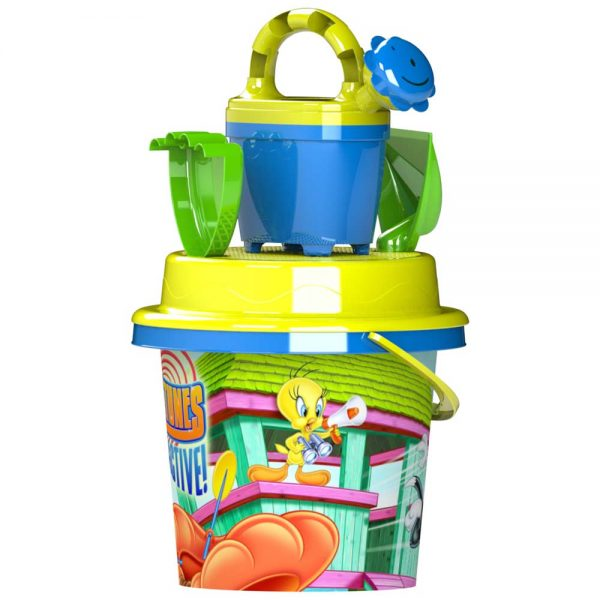 Комплект детска кофичка за игра на плаж и пясък от ТВ реклами